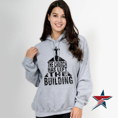 The Church Has Left The Building // Hoodie