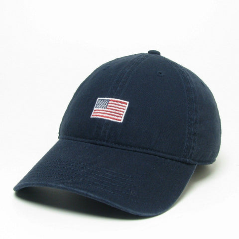 H7001 NAVY MINI AMERICAN FLAG DAD HAT