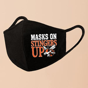 Masks On Stingers Up // Mask