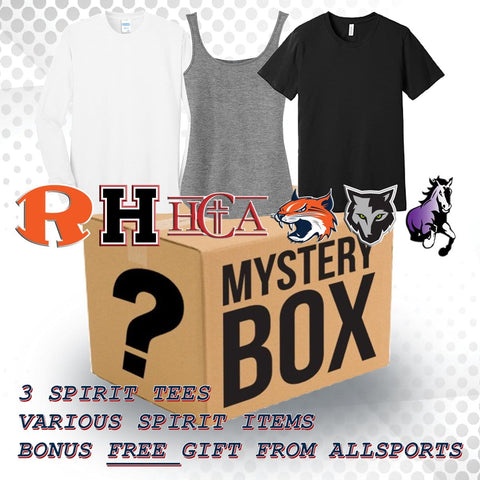 SPIRIT WEAR MYSTERY BOX // ROCKWALL / HEATH / HCA / WILLIAMS / UTLEY / CAIN