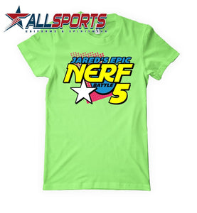 Jared's Epic Nerf Battle Tee - PREORDER ONLY