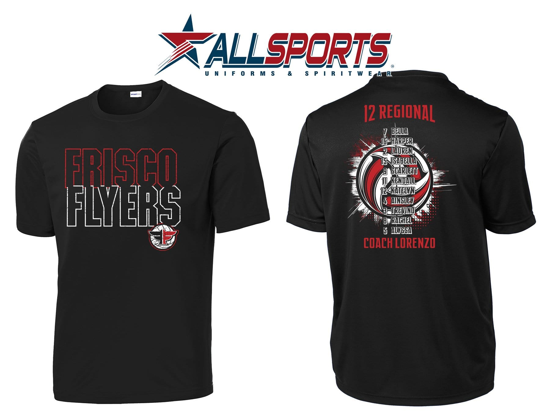 FRISCO FLYERS // SHORT SLEEVE