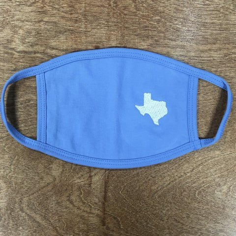 Texas Embroidered Mask