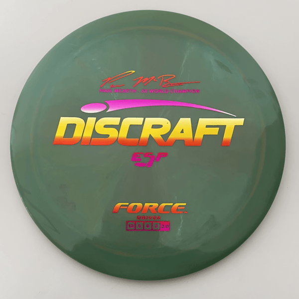 Paul McBeth ESP Force Signature Series