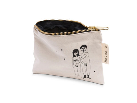 Mini pochette Naked Couple