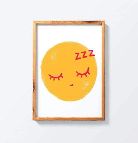 Affiche Good Night emoticon