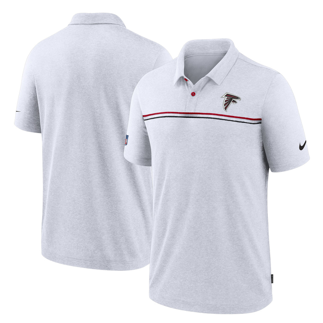Atlanta Falcons Men's Dri-Fit Polo-White