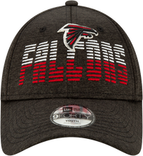 Load image into Gallery viewer, Atlanta Falcons Youth Flash JR940-Black Hat-Adjustable
