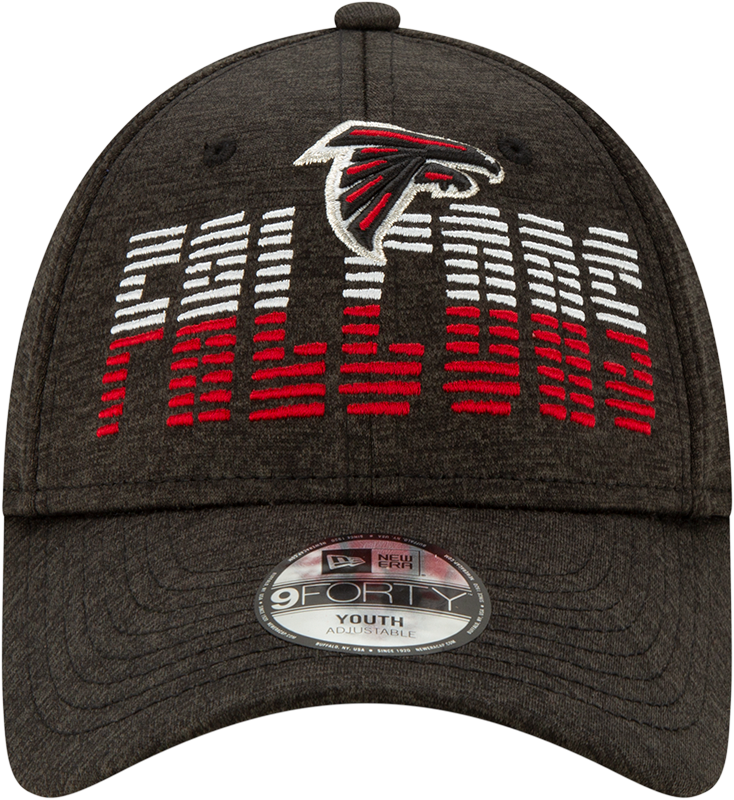 Atlanta Falcons Youth Flash JR940-Black Hat-Adjustable