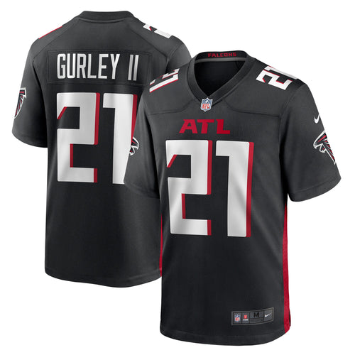 Men's Nike Todd Gurley Black Atlanta Falcons Game Jersey