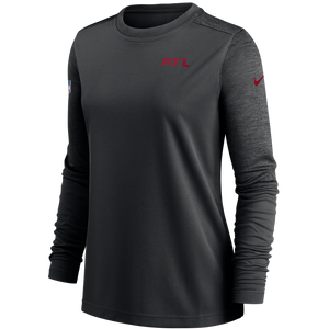 Atlanta Falcons Women's UV Long Sleeve Top-Black