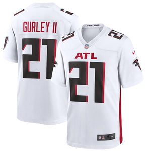 Men's Nike Todd Gurley White Atlanta Falcons Game Jersey