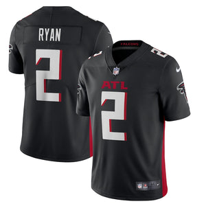 Men's Nike Matt Ryan Black Atlanta Falcons Game Jersey