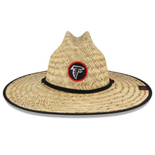 Load image into Gallery viewer, Atlanta Falcons New Era 2020 NFL Summer Sideline Official Straw Hat - Natural