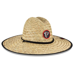 Atlanta Falcons New Era 2020 NFL Summer Sideline Official Straw Hat - Natural