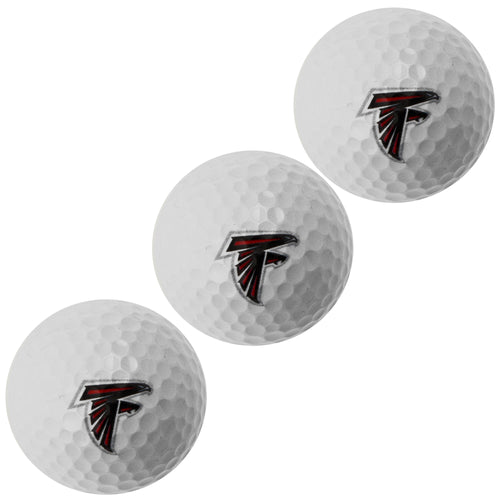 Atlanta Falcons WINCRAFT GOLF BALLS 3PC