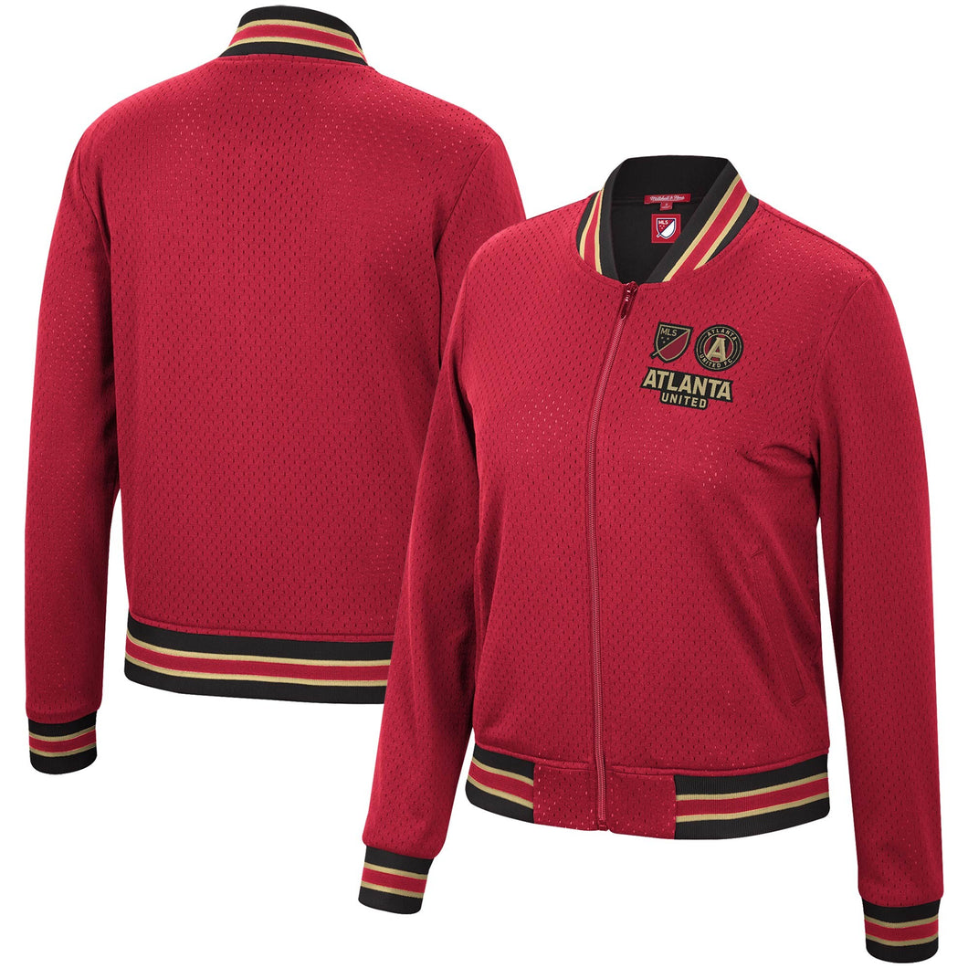 Atlanta United FC Mitchell & Ness Women's Full-Zip Jacket - Red