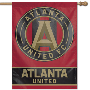 "Atlanta United FC WinCraft 28"" x 40"" Stripe Single-Sided Vertical Banner"