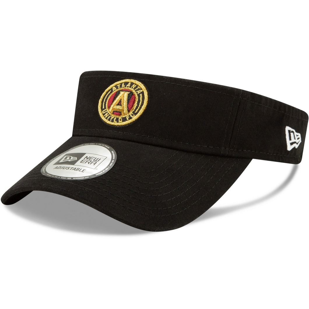 Men's New Era Black Atlanta United FC Dugout Redux 2 Visor