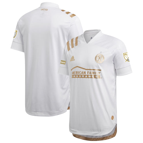 Men's Atlanta United FC adidas White 2020 Kings Authentic Jersey