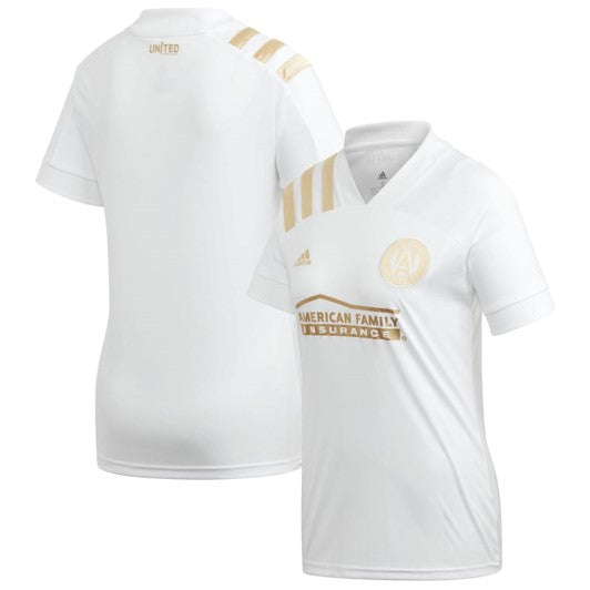 Women's Atlanta United FC adidas White 2020 Kings Replica Jersey