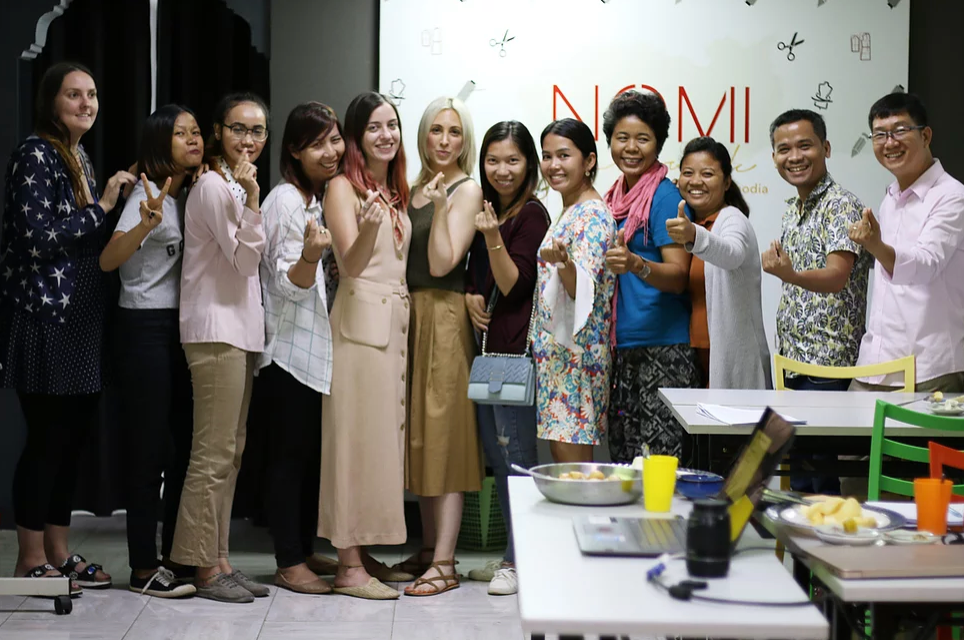 Nomi Network Fashion Incubator + The Power of Entrepreneurship