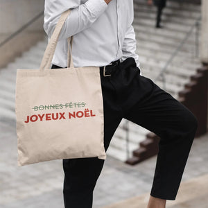 "On dit ""Joyeux Noël !"" Shopping bag - Ma Boutique Catho"