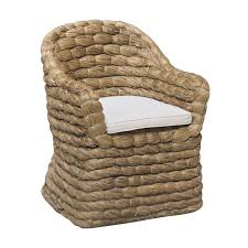 Occasional Chair/ Dining chair Banana Leaf Natural woven chair