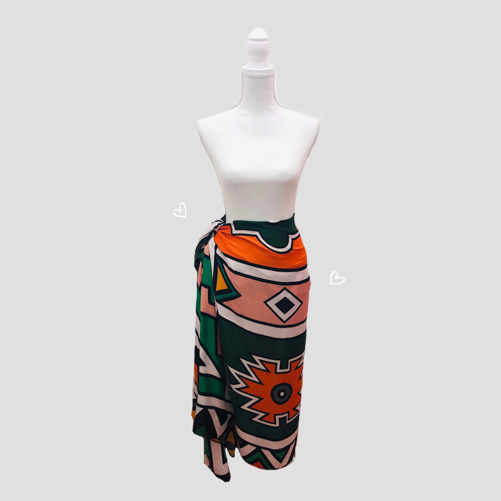 Africa Ethnic Pareo - Viscose
