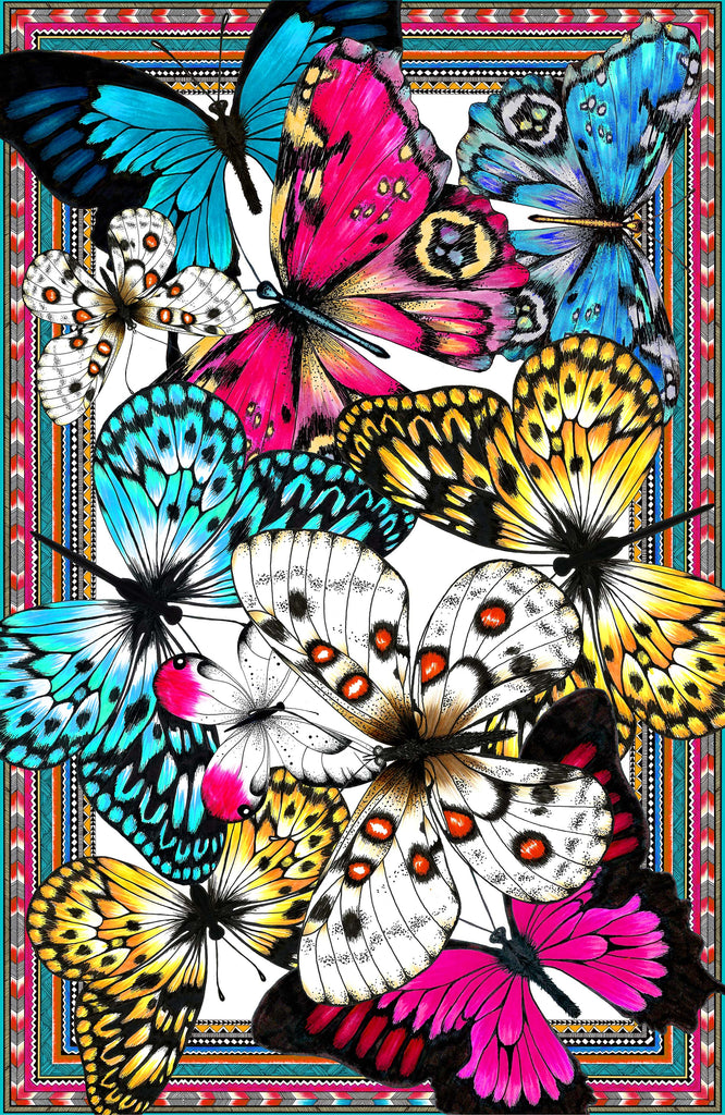 Butterflies Pareo - Georgette