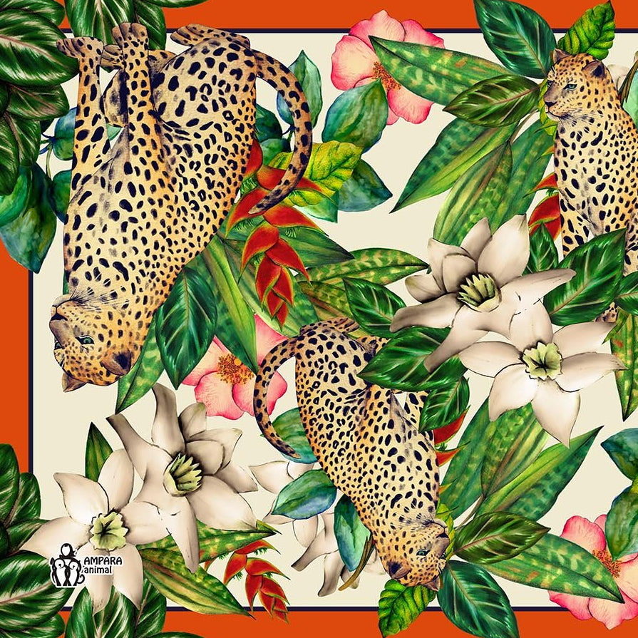 Tropical Jaguar Pareo - Viscose