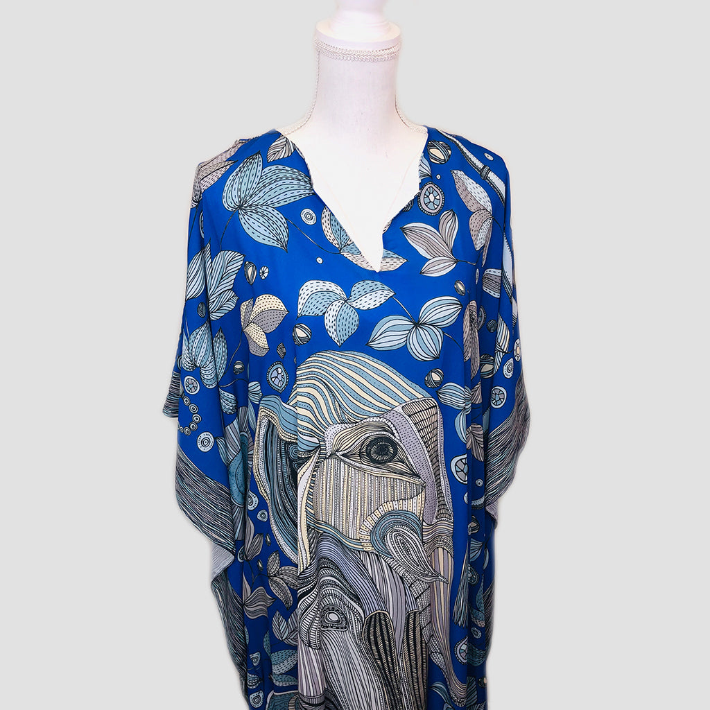 Long Caftan - Elephant
