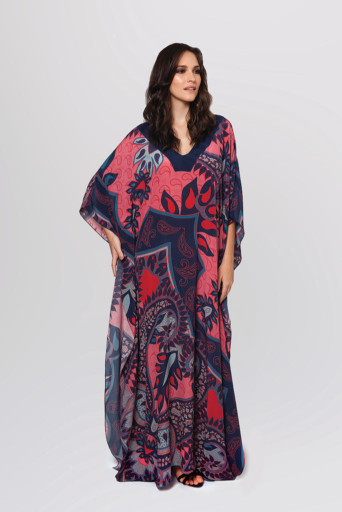Long Silk Caftan - Amristar