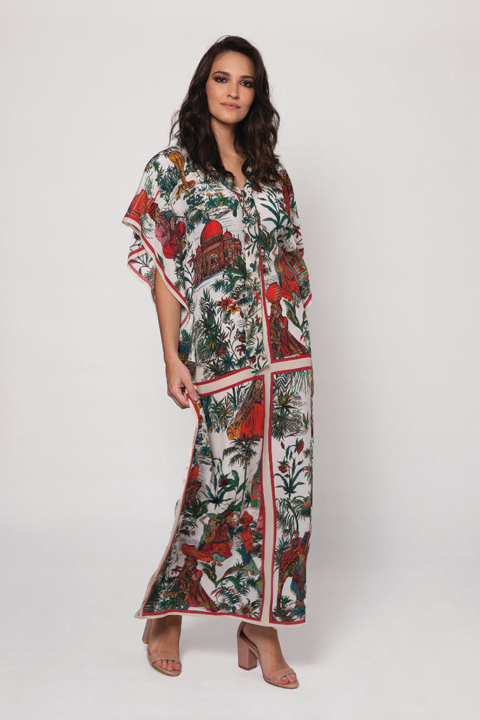 Long Silk Caftan - India