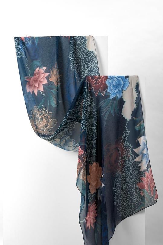 Charming Shawl - Silk Mousseline