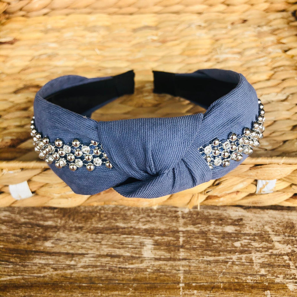 Headband - Denim Tiara