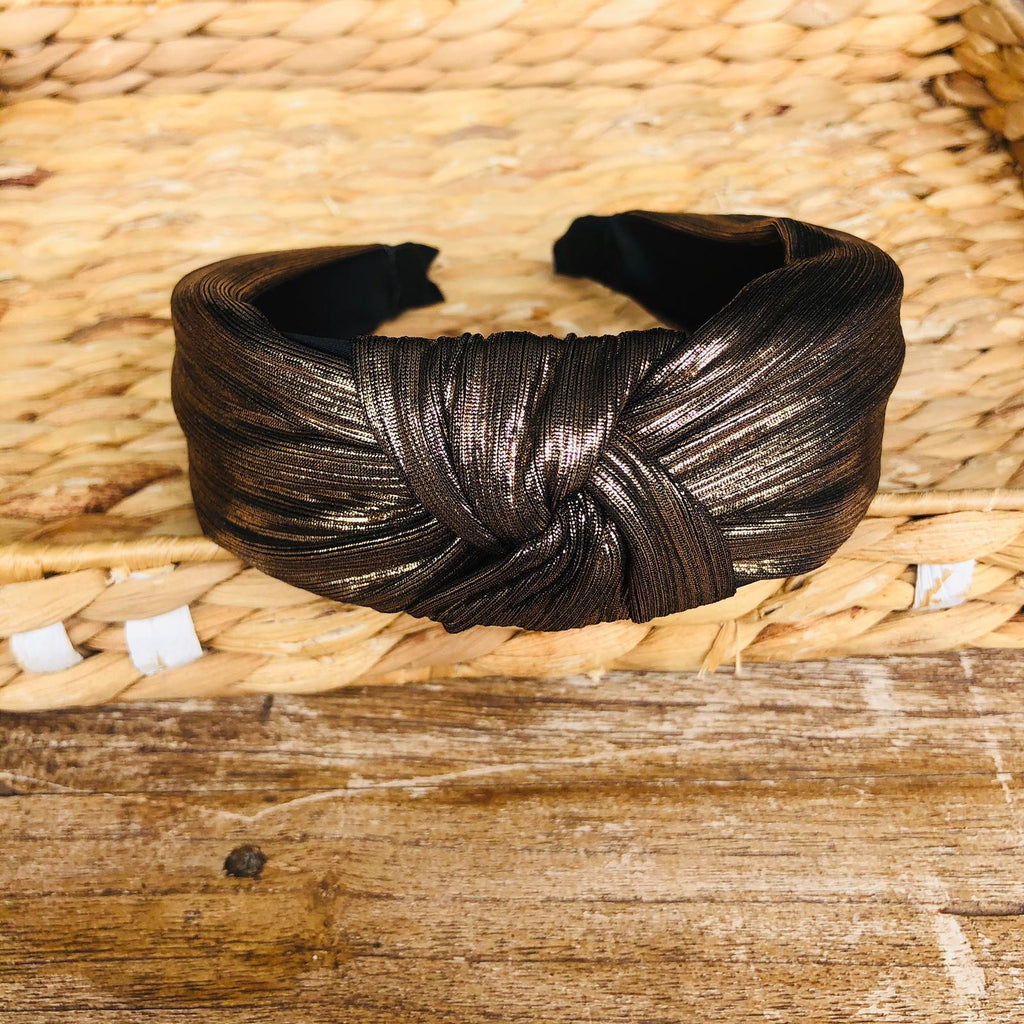 Headband - 80's Metallic Tiara
