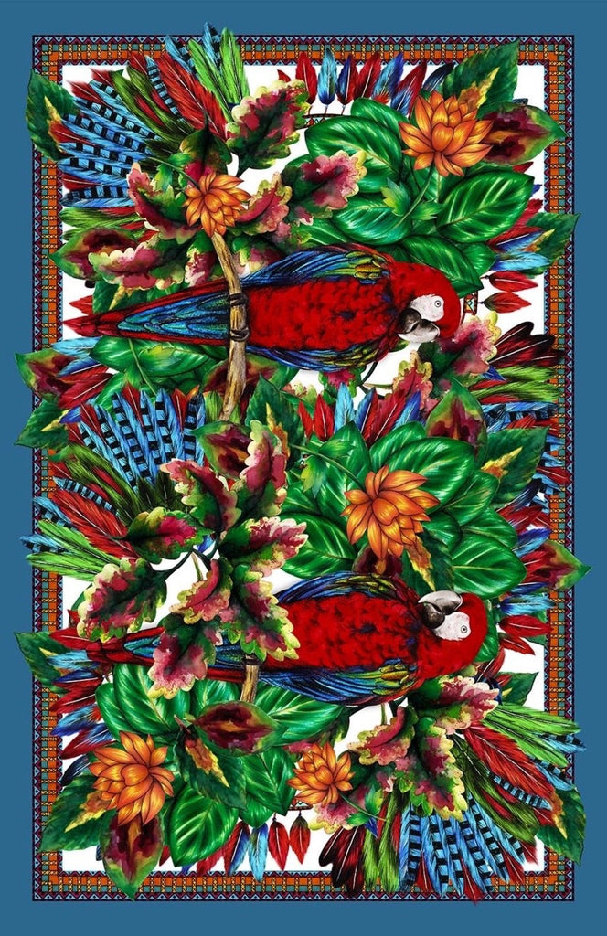 Tropical Parrot Pareo - Viscose