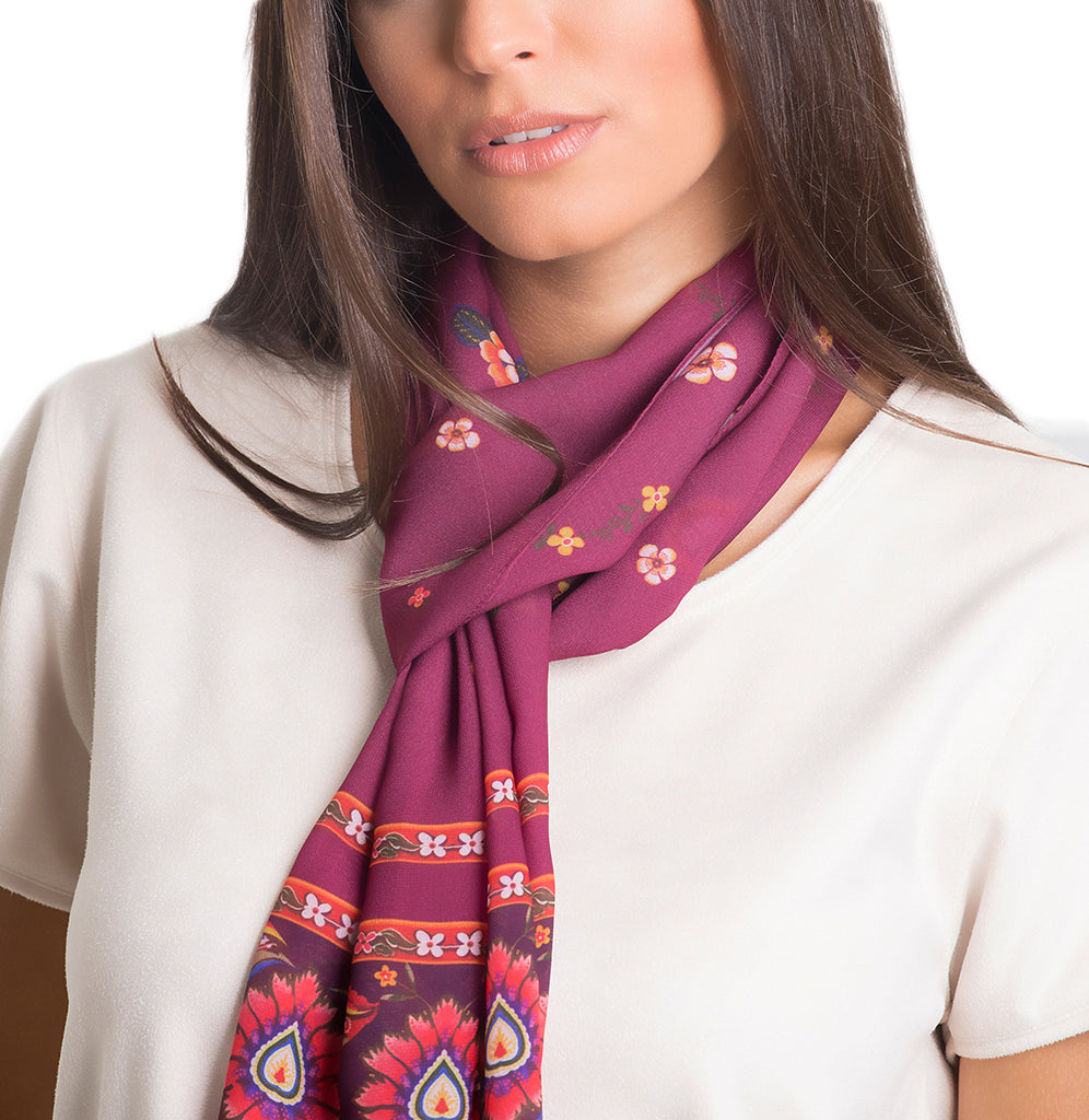 Delicate Shawl - Polyester Mousseline