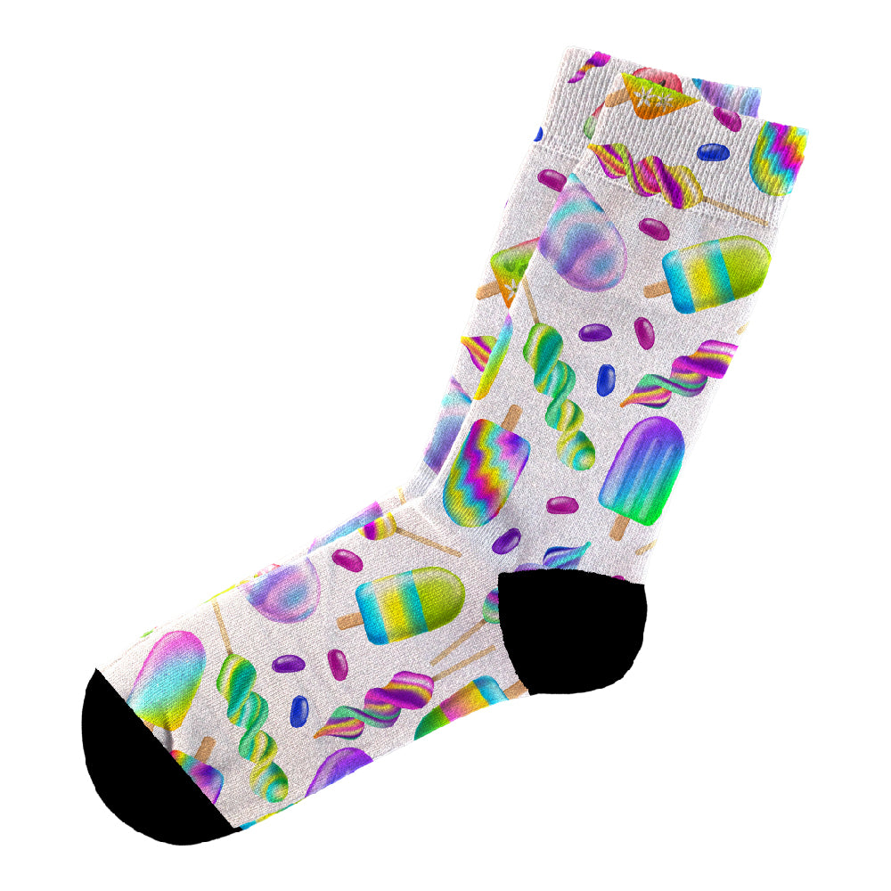 Κάλτσες #doyoudaresocks Digital Printed Casual Summer Icecreams (code 60086)