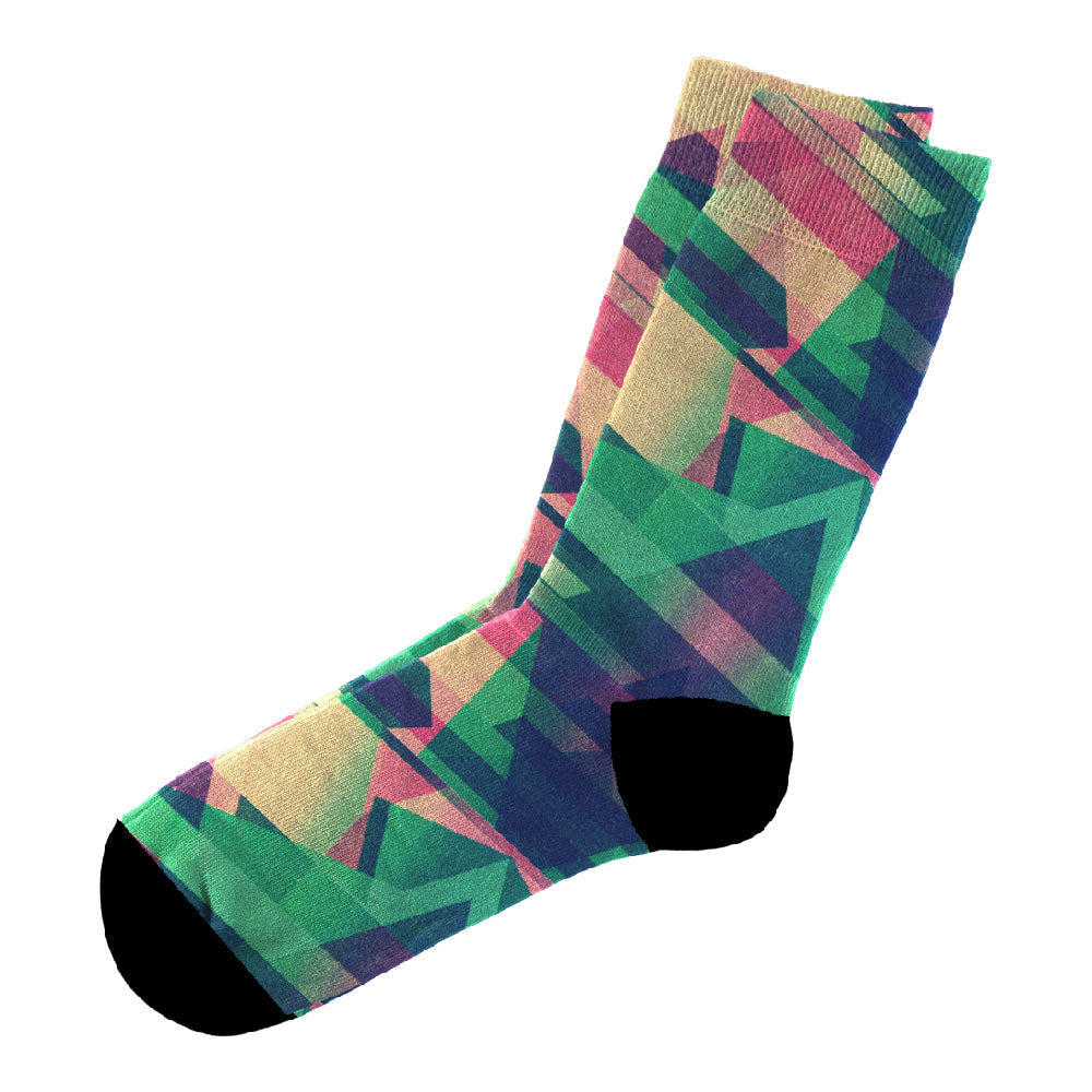 Κάλτσες #doyoudaresocks Digital Printed Casual Glitch (code 60099)