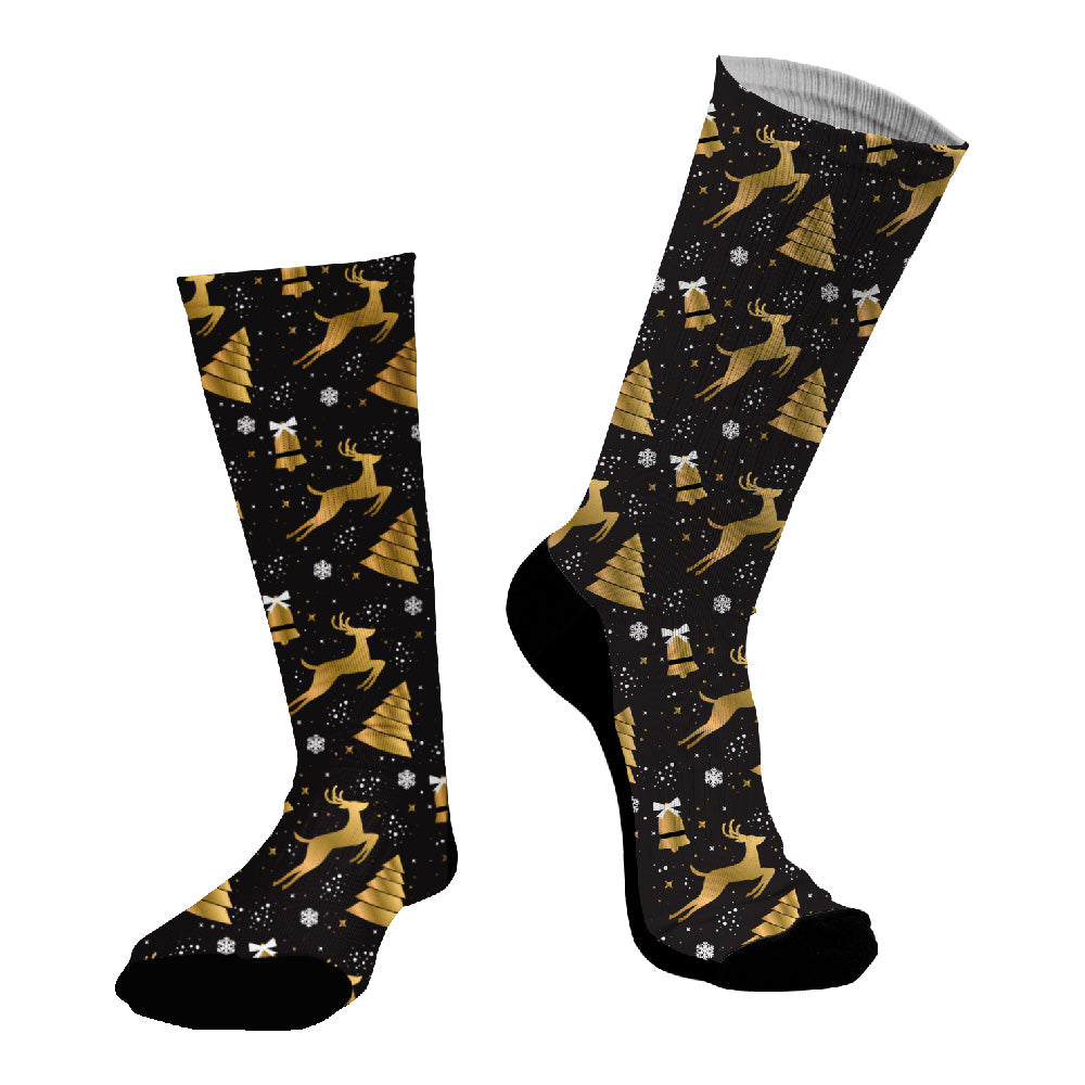 Κάλτσες #doyoudaresocks Digital Printed SuperSport Christmas Trees (code 70056)