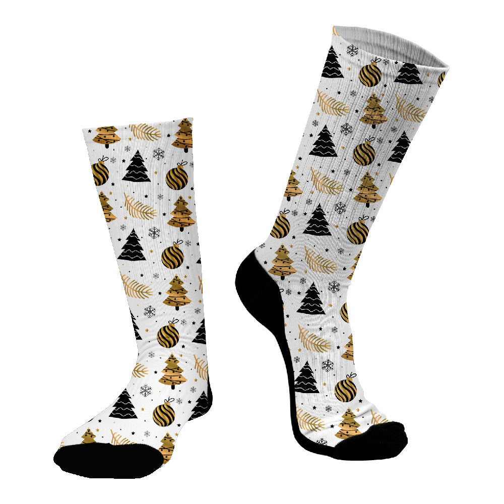 Κάλτσες #doyoudaresocks Digital Printed SuperSport Christmas Trees (code 70057)