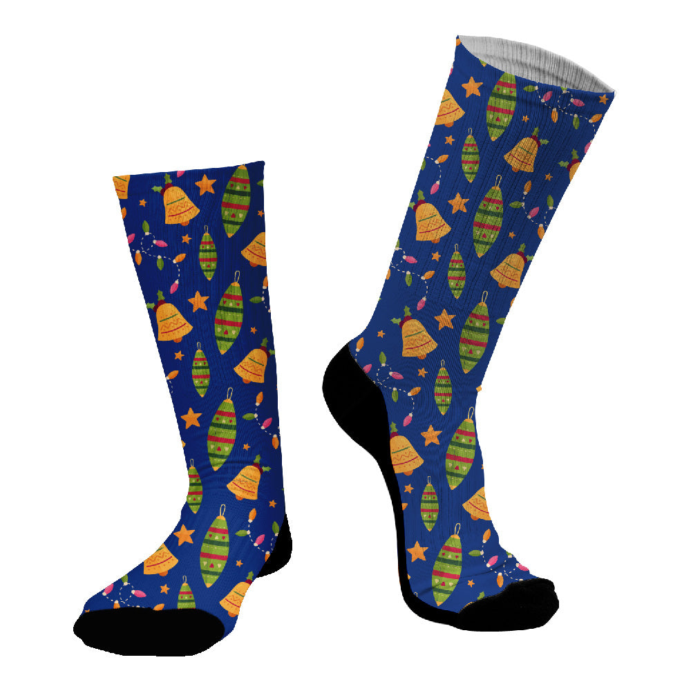 Κάλτσες #doyoudaresocks Digital Printed SuperSport Christmas Balls (code 70058)