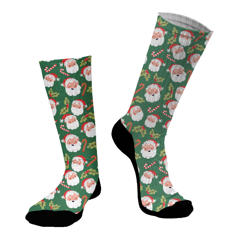 Κάλτσες #doyoudaresocks Digital Printed SuperSport Christmas Santa Claus (code 70073)