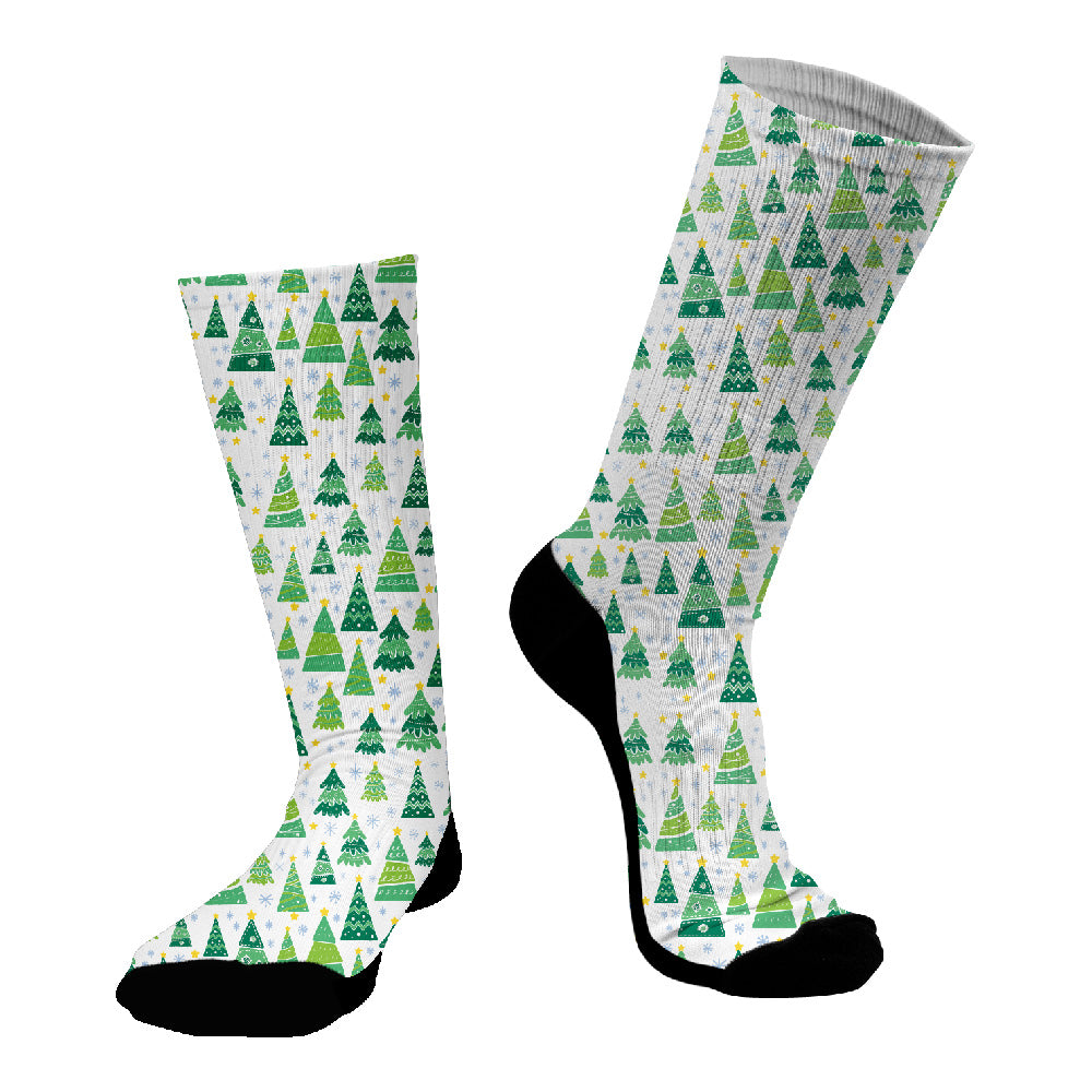 Κάλτσες #doyoudaresocks Digital Printed SuperSport Christmas Trees (code 70078)