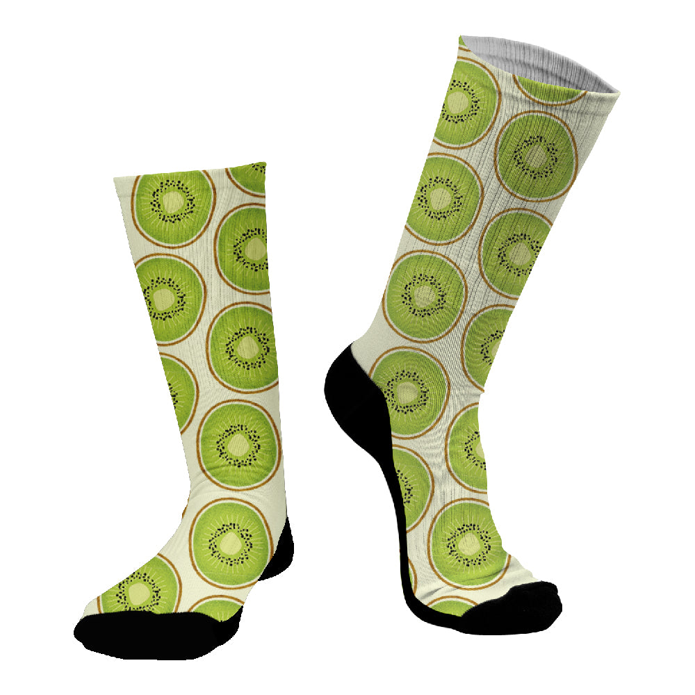 Κάλτσες #doyoudaresocks Digital Printed SuperSport Kiwis (code 70101)