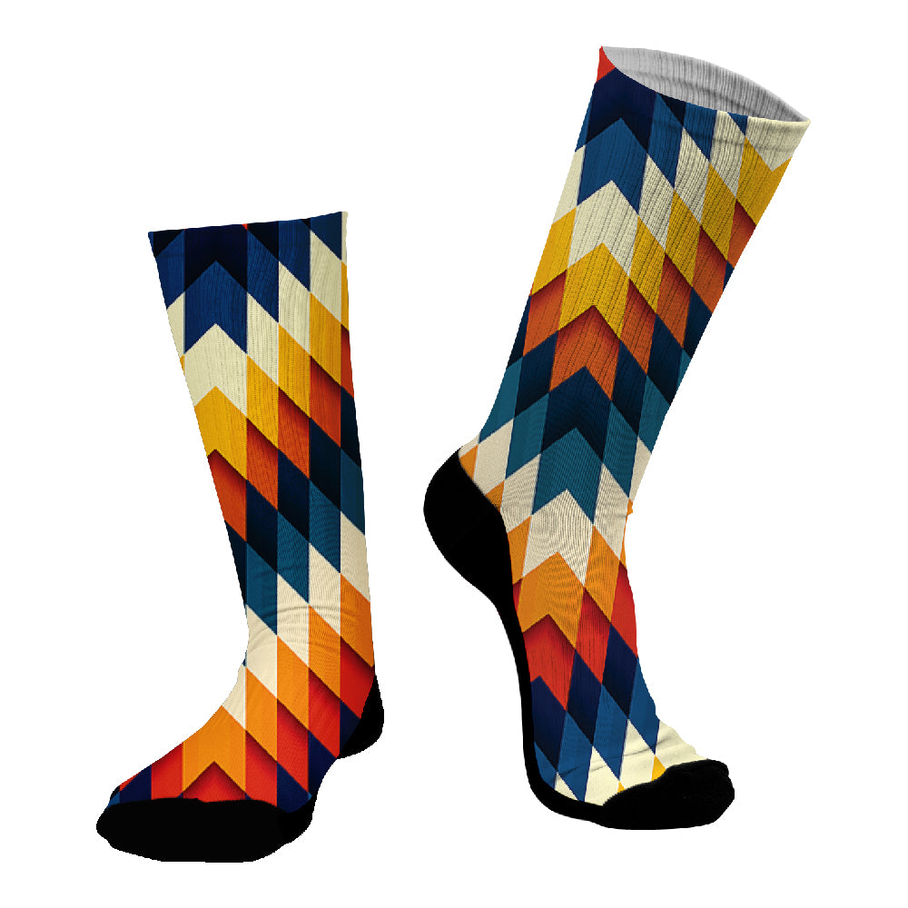 Κάλτσες #doyoudaresocks Digital Printed SuperSport Africanism (code 70109)