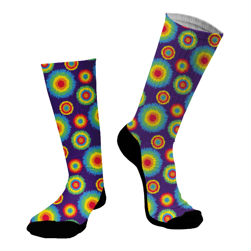 Κάλτσες #doyoudaresocks Digital Printed SuperSport Tie Dye (code 70114)