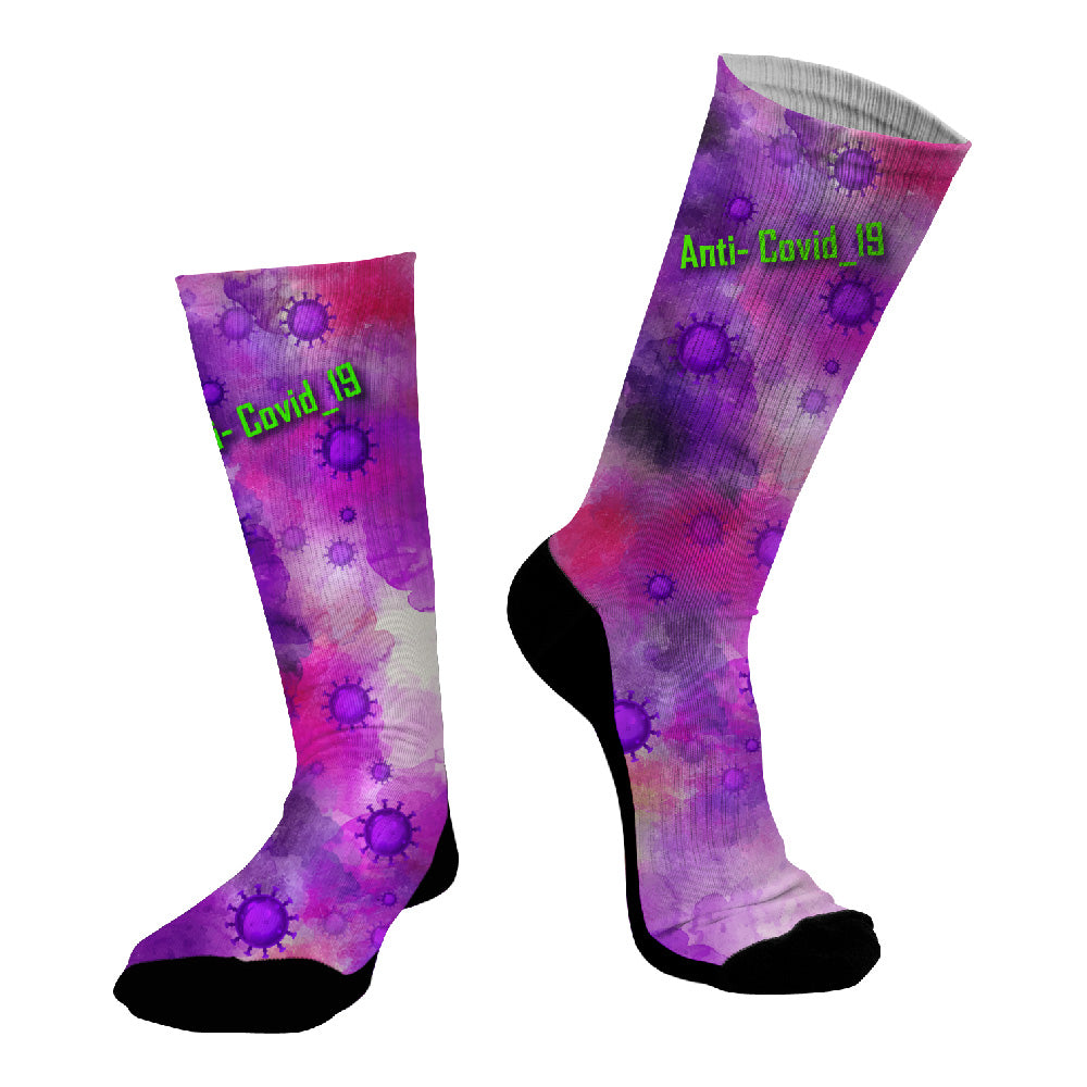 Κάλτσες #doyoudaresocks Digital Printed SuperSport Anti-Covid_19 (code 70119)